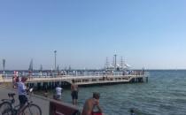 Parada żaglowców jest na wysokości Gdyni