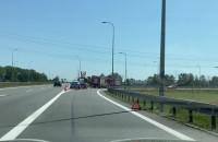 Węzeł Przejazdowo - skutki wypadku