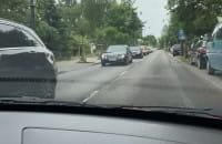 Droga w Sopocie w kierunku Gdyni