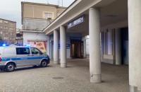 Policja na dworcu w Gdyni