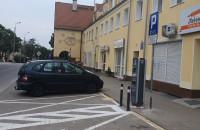 Zajęty parking pod ładowarkę