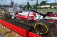 Bolid F1 w Gdyni