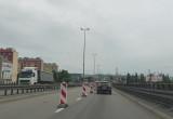Zwężenie na estakadzie w Gdyni