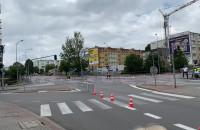 Trwa wyścig kolarski na Witominie