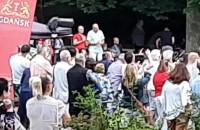 Grupa Mocarta w Parku Oruńskim
