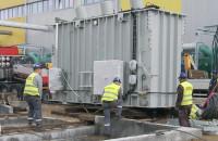 Montaż transformatora w Elektrociepłowni PGE Energia Ciepła
