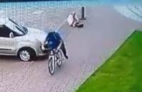 Przewrócił kobietę i uciekł na ul. Dyrekcyjnej w Gdańsku