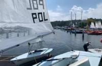 Marina w Gdyni pełna żagli