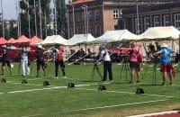 Olimpijczycy w łucznictwie: Sylwia Zyzańska, Sławomir Napłoszek