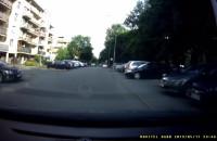 Nieładne zachowanie kierowcy
