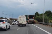 Przyczyna korka na Kowalach w kierunku A1