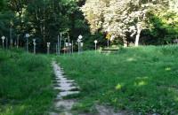 Linowy park-widmo w Oliwie