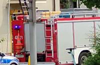 Interwencja strażaków w Redłowie