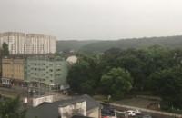 Mocno pada we Wrzeszczu