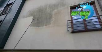 Mycie elewacji i fasad budynków