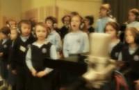 Kolęda śpiewana przez dzieci z Lokomotywy