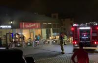 Pożar pizzerii na Oruni