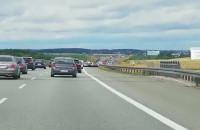 Korki na autostradzie