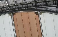 Naprawiony dach Opery Leśnej