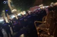 Mnóstwo policjantów w Sopocie