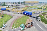 Ten transport ważył prawie 300 ton