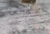 Wycinanie otworów w płytkach betonowych
