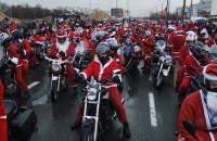 Rekord Mikołajów na motocyklach!