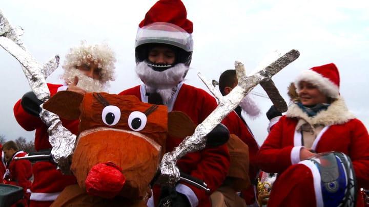 Dwa lata temu padł rekord. Na trasę wyruszyło ponad 3 tys. Mikołajów.