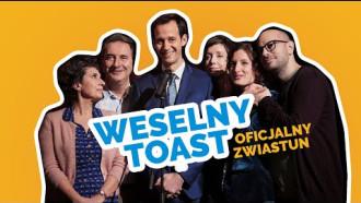 Weselny toast - zwiastun