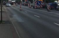 Roboty drogowe w Sopocie