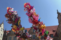 Balony na całej ul. Długiej