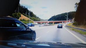 Niebezpieczna sytuacja na drodze