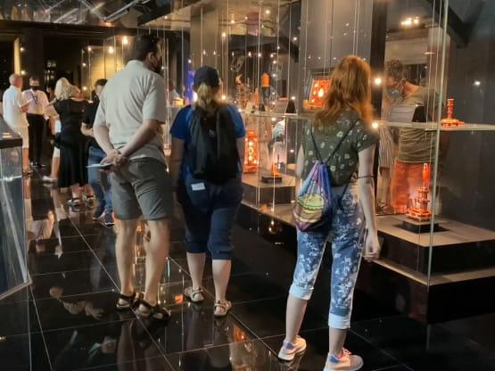 Pierwsi goście w Muzeum Bursztynu