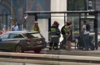 Potrącenie motocyklisty na Grunwaldzkiej