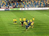 Arka Gdynia - Zagłębie Sosnowiec 1:1. Kibice po meczu