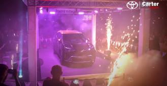 Toyota Yaris Cross - wieczorny show na Ołowiance