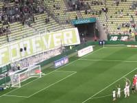 Lechia Gdańsk - Cracovia 3:0. Radość po meczu