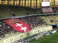 Lechia Gdańsk - Cracovia 3:0. Oprawa kibiców