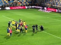 Arka Gdynia - Widzew Łódź 3:1. Podziękowania