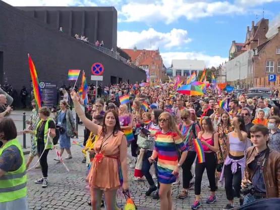 Marsz Równości rusza spod Teatru Szekspirowskiego