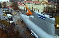 Okręt podwodny na ulicy