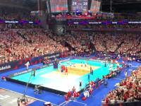 Ostatni punkt meczu i radość po zwycięstwie Polaków