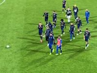 Skra Częstochowa - Arka Gdynia 2:1. Piłkarze po meczu