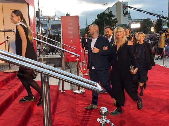 Ekipa filmu Najmro na czerwonym dywanie