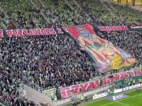 Lechia Gdańsk - Legia Warszawa 3:1. Oprawa. Uwaga: wulgaryzmy