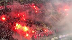 Lechia Gdańsk - Legia Warszawa 3:1. Racowisko