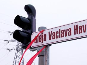 Aleja Vaclava Havla już otwarta