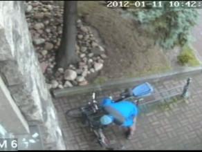 Kradzież roweru Gdańsk 11.01
