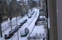 Zasypana uliczka Wrzeszcza