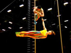 Przygotowania do Cirque du Soleil